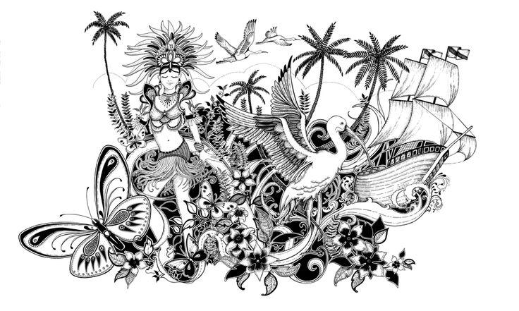 Johanna Basford Angostura Rum