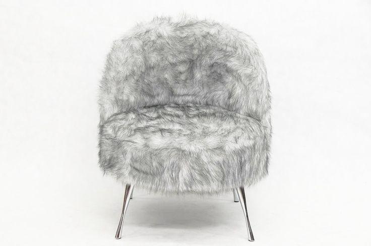 Puszysty Fotel Syberian Wolf Happy Barok  #armchair #chair #meble #furniture #house #home #dom #mieszkanie #homedesign #homedecor #livingroom #livingroomdesign #salon #new #polish #design #designer #happy #barok #thebest #scandi #scandinavian #skandynawski #futro #fur #syberian #wolf #pelt #onemarket.pl