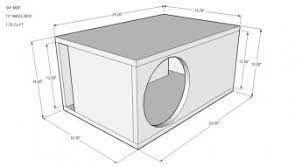 ผลการค้นหารูปภาพสำหรับ subwoofer box design for 12 inch