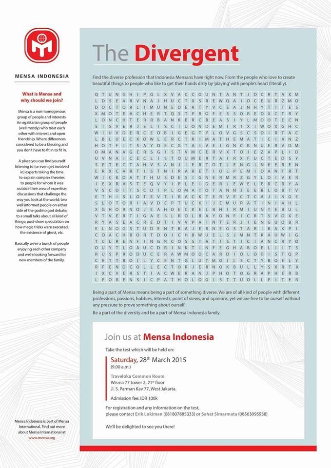 Logo Mensa Indonesia Mensa Indonesia Pinterest Indonesia - darpa program manager sample resume