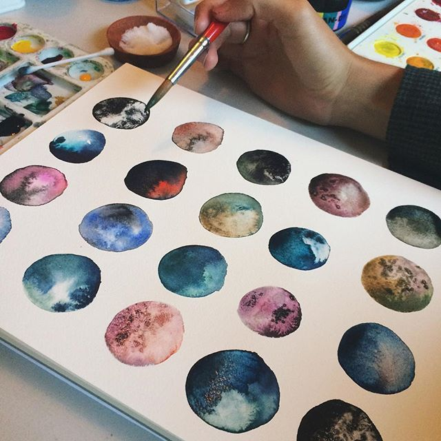 25 best ideas about watercolor beginner on pinterest for Different watercolor techniques