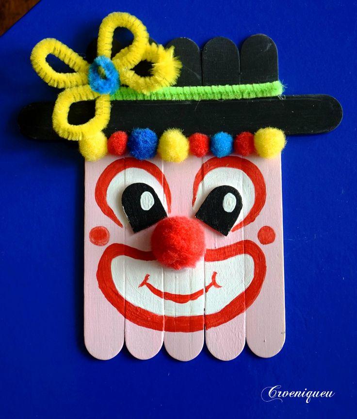 Bohóc, clown, iskola, school, spatula