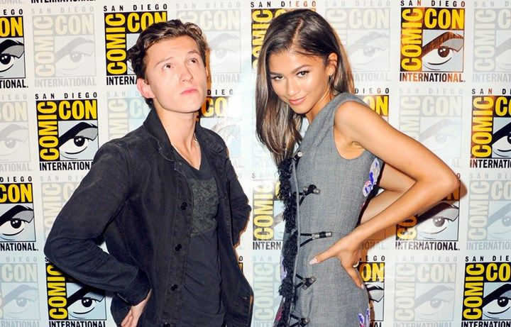 Tom Holland and Zendaya.