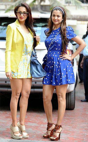Sisters Malaika Arora Khan and Amrita Arora