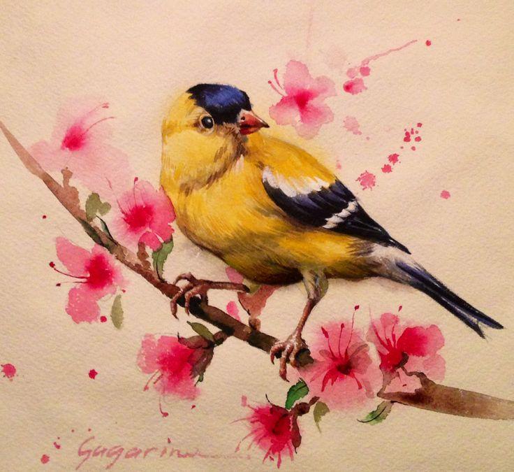 """irina gagarina """" yellow bird"""""""