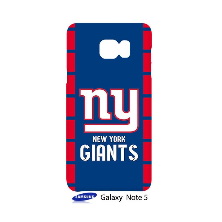New York Giants Samsung Galaxy Note 5 Case Cover Wrap Around