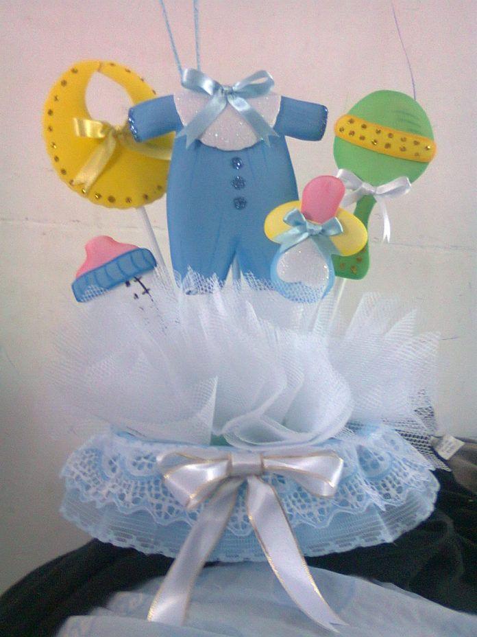 Centros De Mesa Para Baby Shower Modernos Originales Y Economicos Baby Shower Unisex Baby Showers De Mickey Boy Baby Shower Ideas