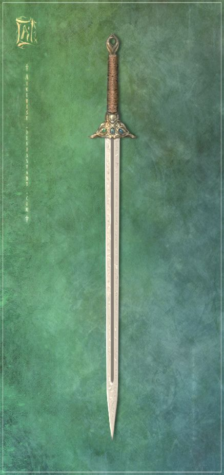 This blade looks like it would suit the female warriors :) Blade of Kaeyr by *Aikurisu on deviantART