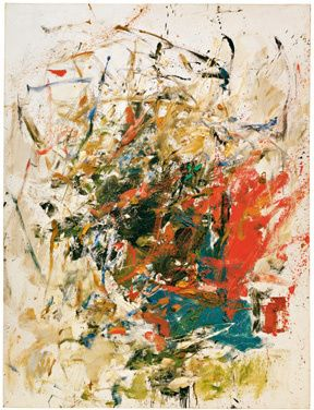 La Chatiere, 1960Oil on canvas  194.3 x 147.3 cm / 76 1/2 x 58 in  Joan Mitchell