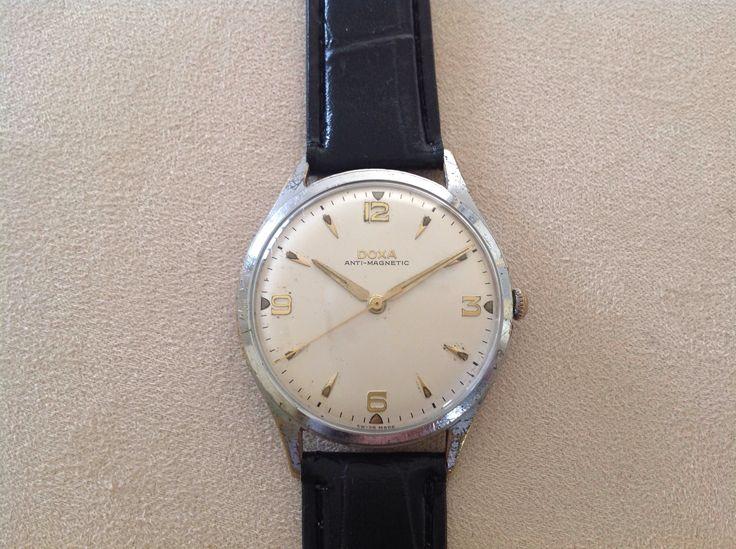 Doxa Hand Winding Watch