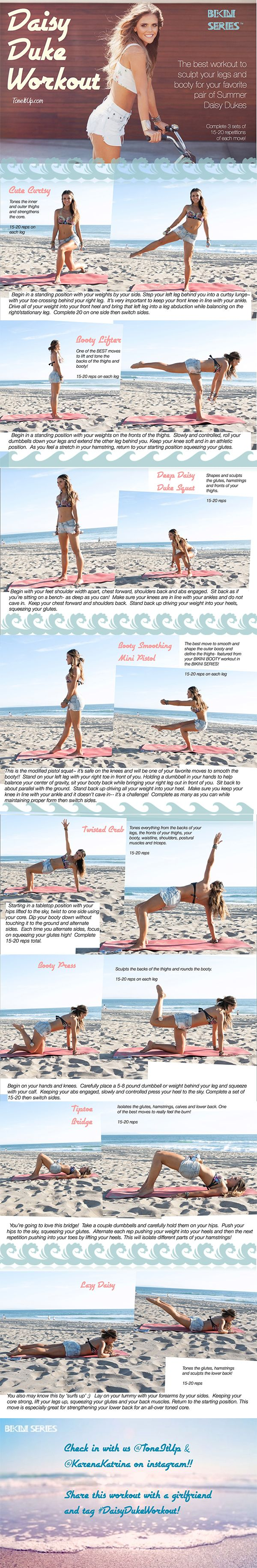Your Daisy Dukes Exercise ☀ - http://www.awesomefitnessmodels.com/fitness-meals-and-workouts/your-daisy-dukes-exercise-%e2%98%80.html