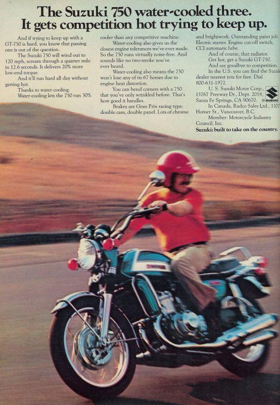 Suzuki GT750- 1971