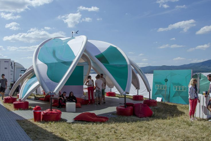 AXION Flower | AXION Inflatable tents and furniture for events and promotion