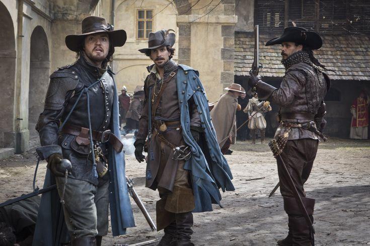 The Musketeers - Athos, Aramis and Porthos.