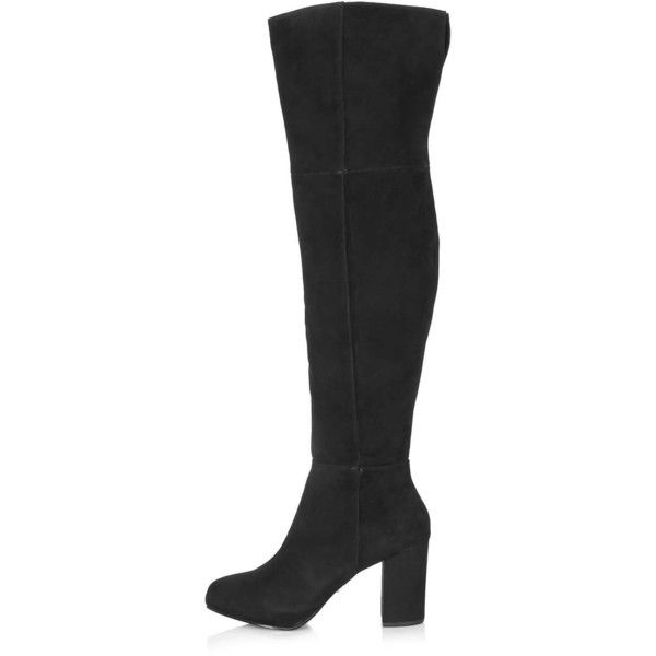 topshop count knee boots 190 liked on polyvore