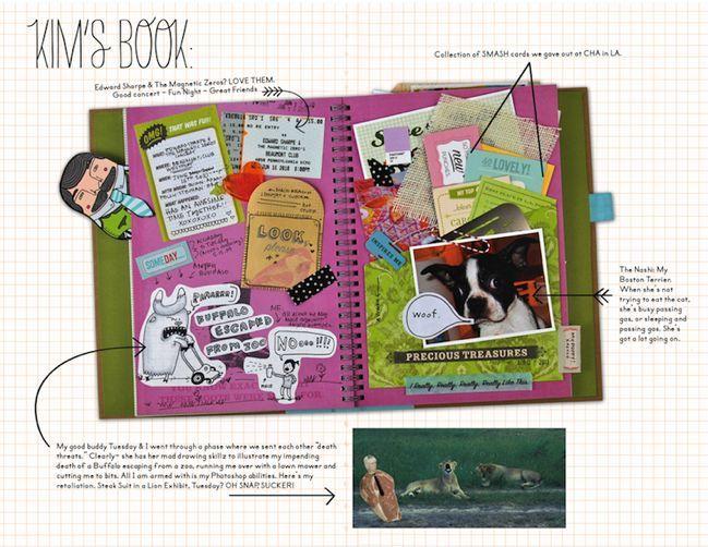 Smash book: Scrapbooking, Journals, Project Life, Book Ideas, Smash Ideas, Smash Books, Craft Ideas