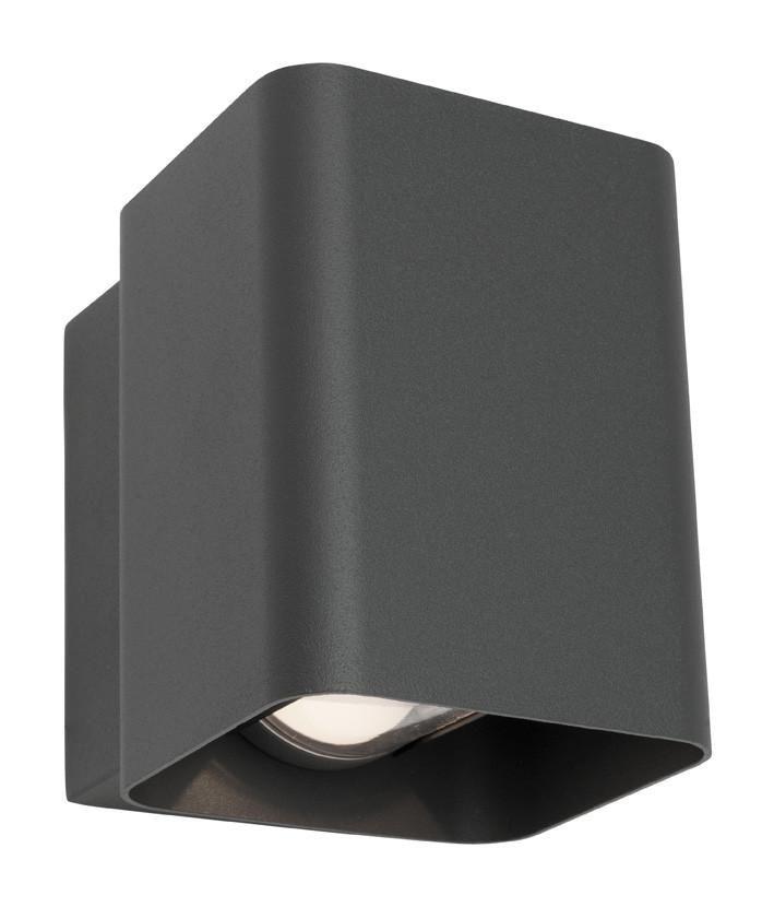Pilsen Charcoal Wall Light