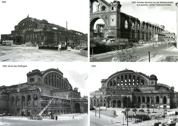 lostplaces - vergessene orte: Der Anhalter Bahnhof in Berlin