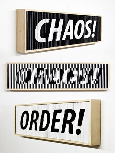 Chaos Order Lenticular  by Cyrcle