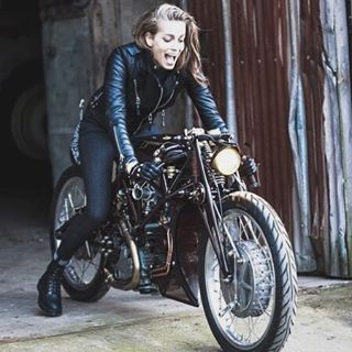 Love this shot of @tamburic having a blast on the Typhoon with @bodaskins @edwineurope and @drmartensofficial  by @richardstow