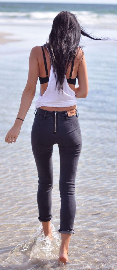 Summer look | Who wears jeans in summer?! - N.S