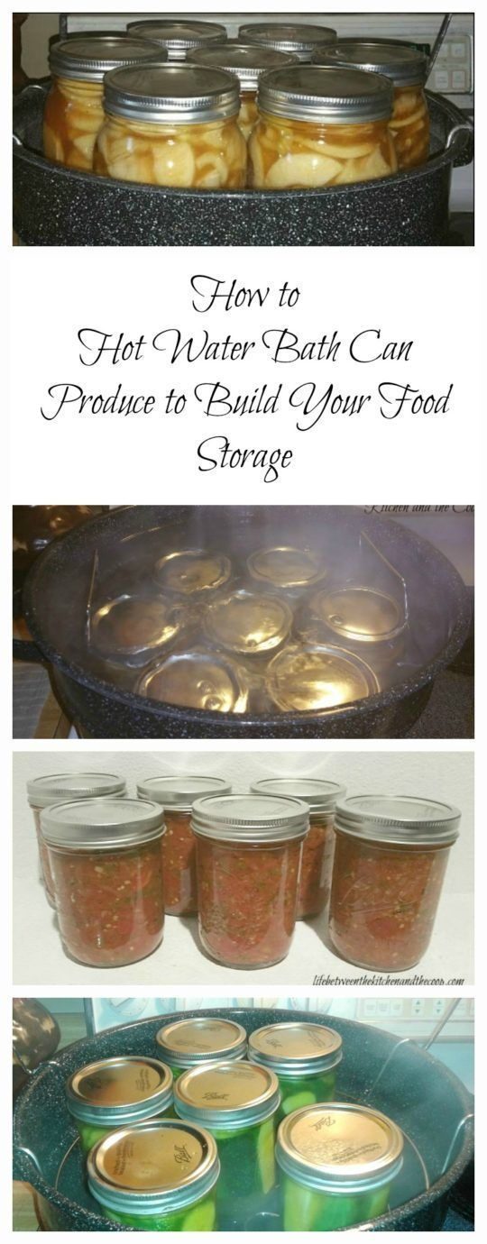 Ever see mason jars of fruit on someone's food storage shelves and wish you had some? You can!  Water bath canning is a great way to preserve produce!  Seeing all of the lovely mason jars full of food on your food storage shelves is a great reward for you
