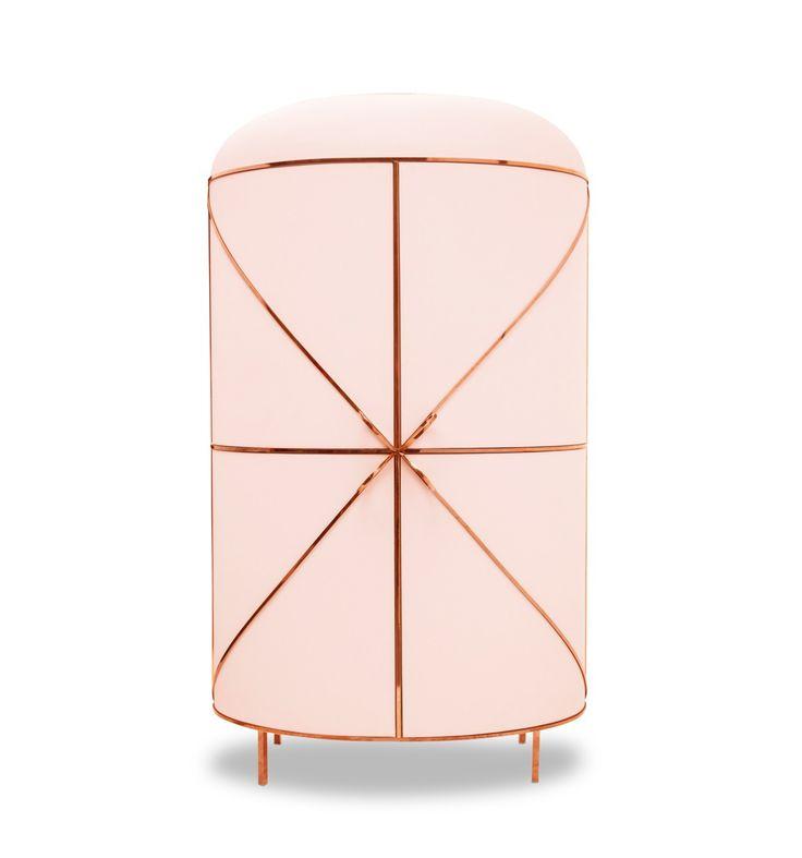 88 Secrets is a line of furniture designed for Scarlet Splendour by Nika Zupanc. Liquor cabinet