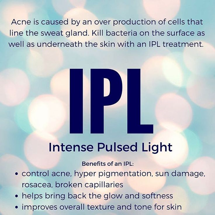 If you experience sun damage or acne an IPL is the perfect treatment for you. Safe, relatively painless and no downtime to watch your skin heel and transform!
