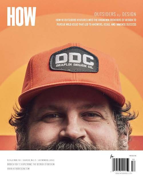 In this unique interview, we explore Aaron Draplin's creative process to better understand how he designs, builds companies and became who he is today.