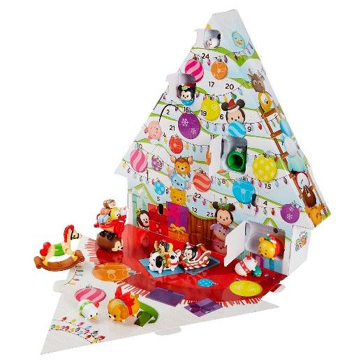 Enjoy counting down the 24 days until Christmas with the Disney Tsum Tsum Advent Calendar. Open a new window each day to reveal a surprise Tsum Tsum figure or accessory and create a Santa's Workshop themed scene. There are 18 Tsum Tsum figures, 6 large, 6 medium in holiday attire, and 6 small, as well as 6 holiday themed accessories, and 6 seasonal headpieces in a Christmas Tree themed package. Each holiday accessory is stackable and can be used to stack a large, medium & small ...