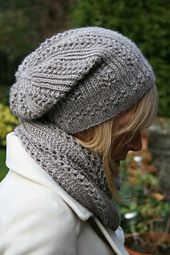 Ravelry: Elbrus pattern by Paulina Popiolek. Love, love, love this pattern set! The perfect slouchy hat