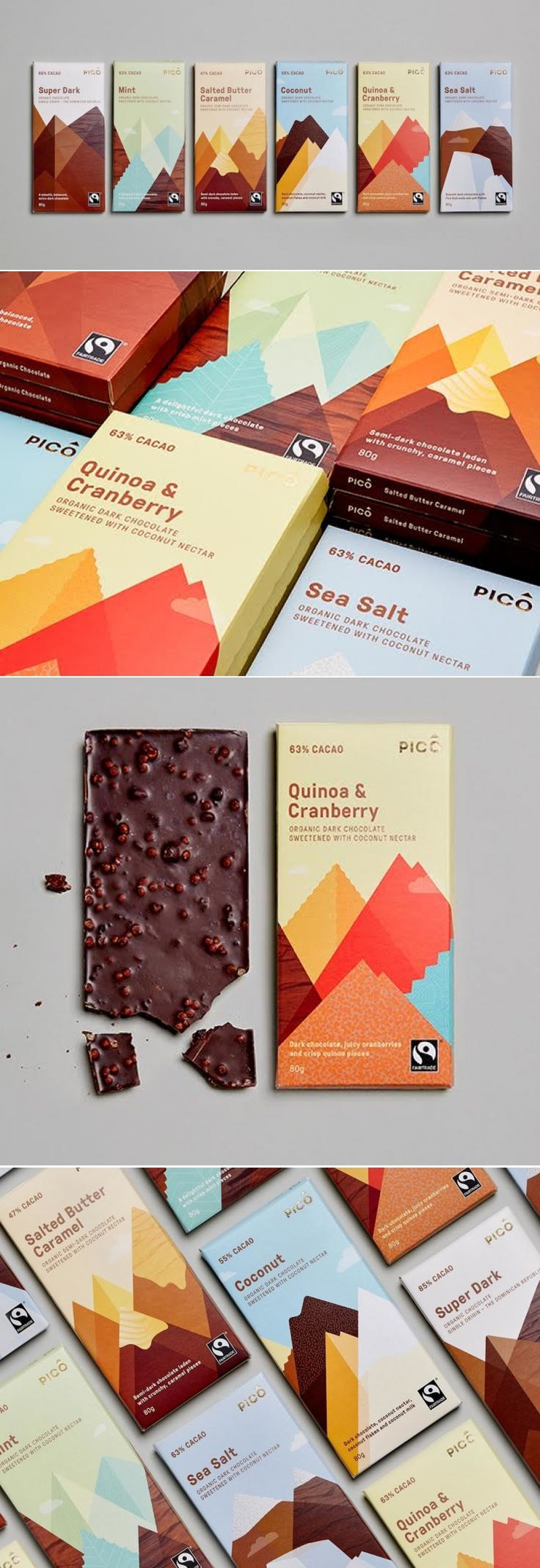 PICO Chocolate — The Dieline | Packaging & Branding Design & Innovation News