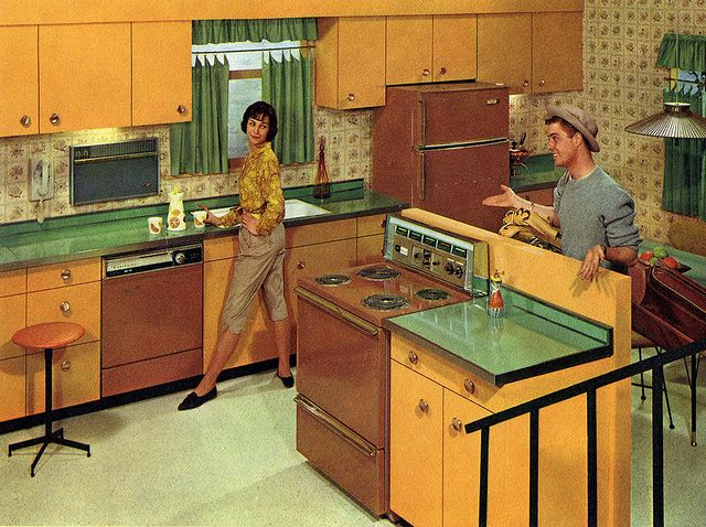 216 Best 1960s Kitchen Amp Dining Images On Pinterest