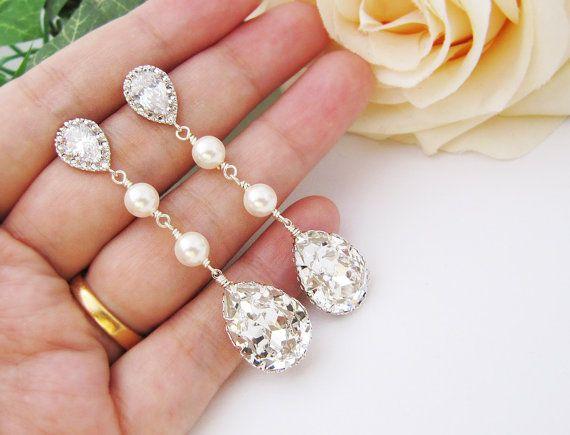 Bridal Earrings Bridesmaid Earrings