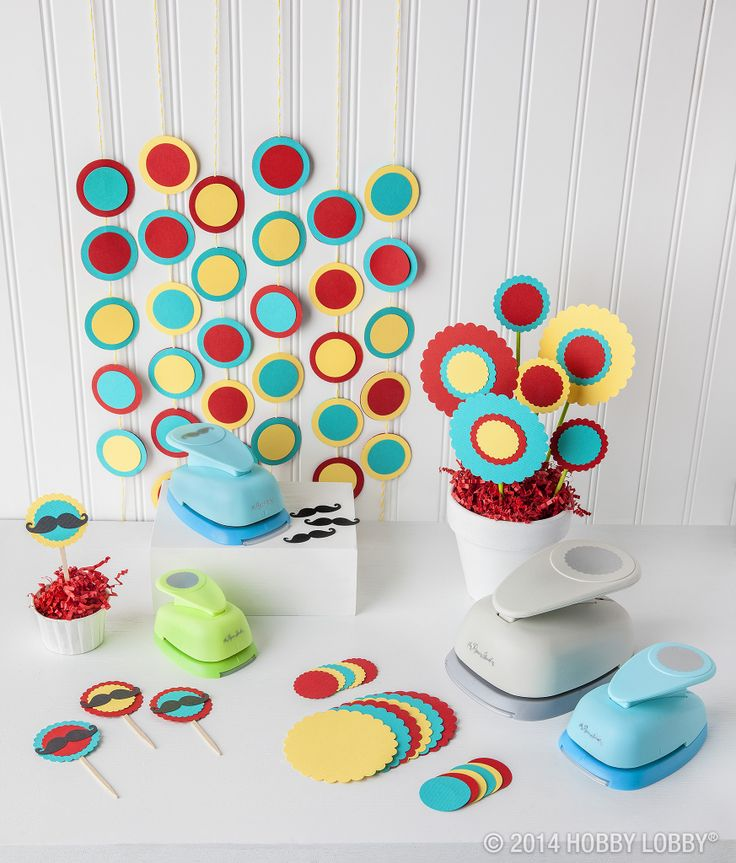 Papercrafting punches make it easy to create beautiful handmade cards and decorations.