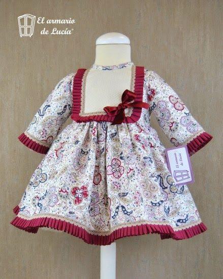 El armario de Lucía  COLECCIÓN RED SUNSET. Vestidos BebeVestidos BonitosRopa  ... a9a1b7d841d