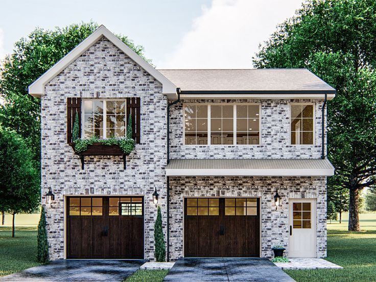 050g 0110 Carriage House Plan In 2020 Carriage House Plans Garage Apartment Plan Apartment Plans