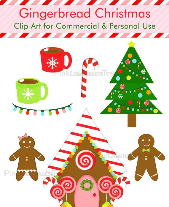 christmas clip art gingerbread house - photo #19