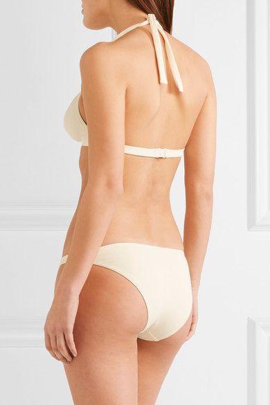 Eres - Perspective Halterneck Bikini Top - Ivory - FR38