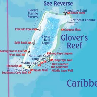 Belize Dive Site Maps & Belize Diving Areas, Maps & More - Belize Travel Central Reservations