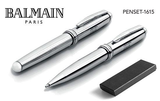 Balmain Pens Concorde Ballpoint Pen and Rollerball Pen