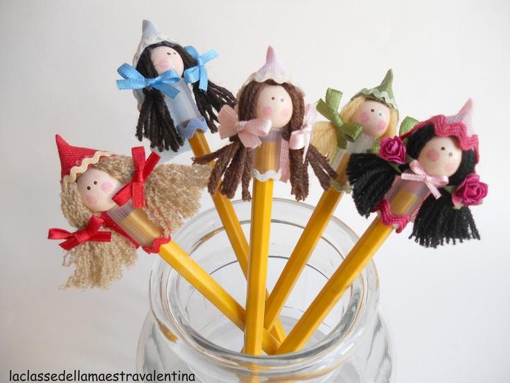 tutorial for pencil decoration