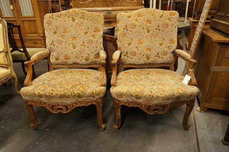 Материал: орех Год: 1900 Стиль: французский рококо (Людовик XV) Ширина: 77 см Высота: 103 см Глубина: 80 см  antikvariat-vintage.ru #мебель #антиквариат #кресла