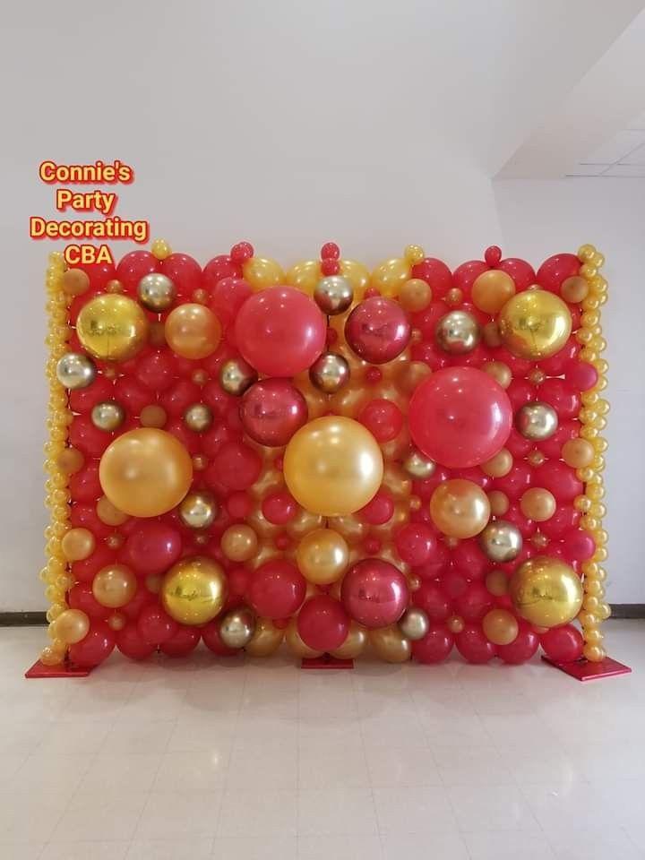 Pin by Robin Bosma on Balloon Wall | Balloon decorations ...