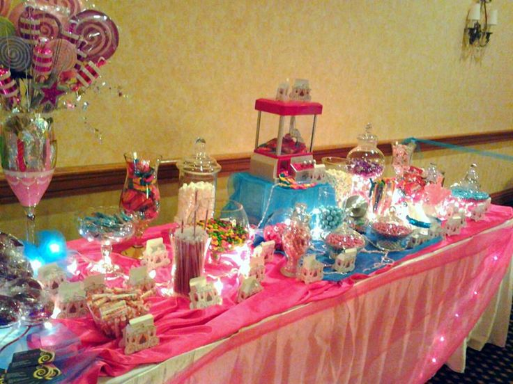 Candy bar en quinceanera fiesta pinterest candy - Decoraciones para bar ...