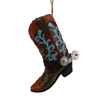 St Nicholas Square 174 Cowboy Boot Ornament Christmas