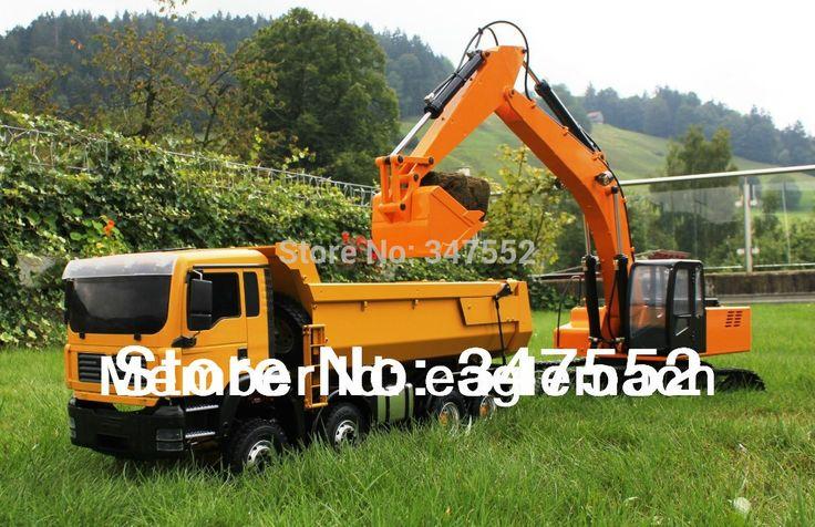 1645.78$  Buy now - http://ali87b.worldwells.pw/go.php?t=1413991336 - 1/12 Scale RC Hydraulic Excavator(1/12 Earth Digger 4200XL Hydraulic Excavator) 1645.78$