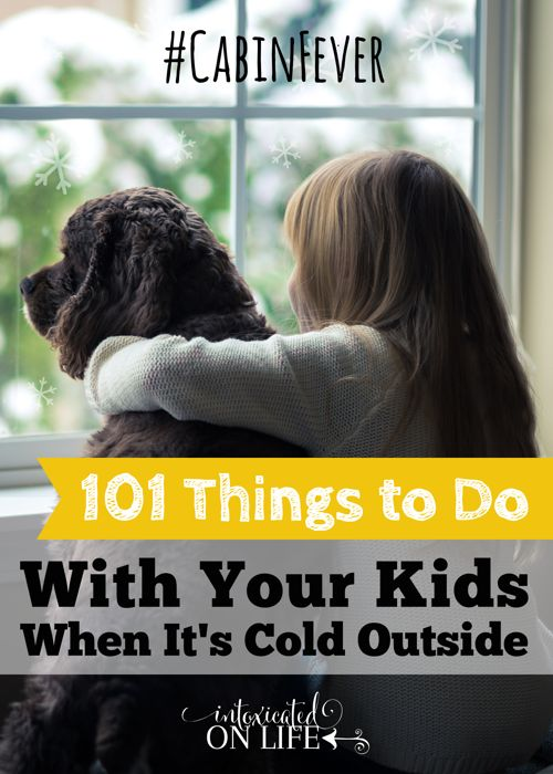 There are days when the weather is too bad to even go outside and let the kids play, it could be a rainy week in summer or snow cold days in winter. You know you got caught with the cabin fever, and this blog post just came in time to give you 101 things you can do inside with minimal setup.