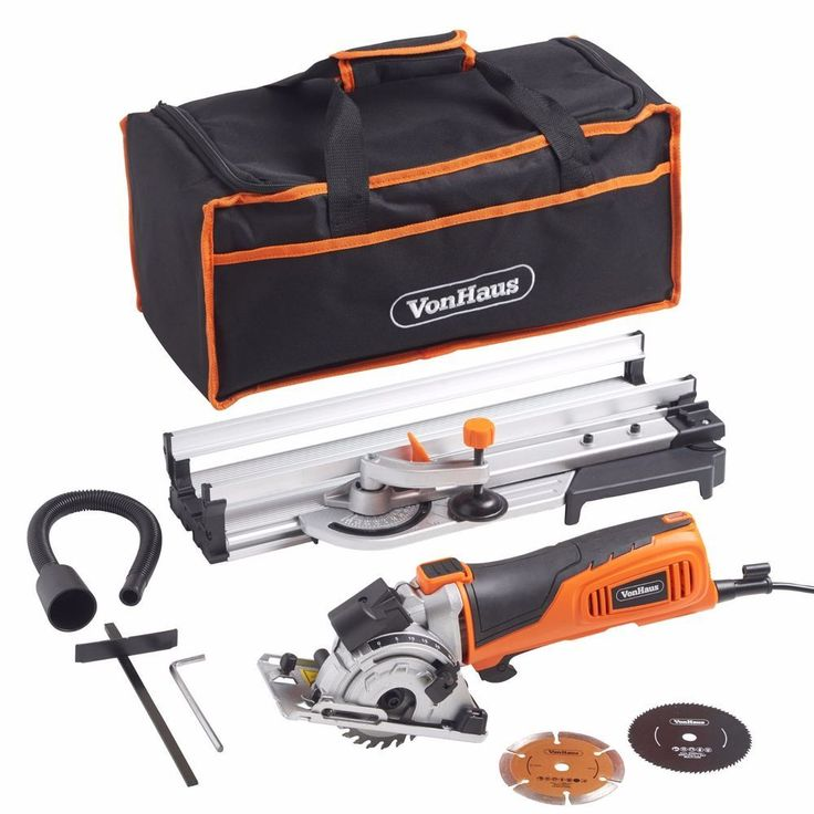VonHaus Compact Circular Mitre Saw Kit 600W 27mm Angled Cross Cut Laser Guide in Home, Furniture & DIY, DIY Tools, Power Tools   eBay!