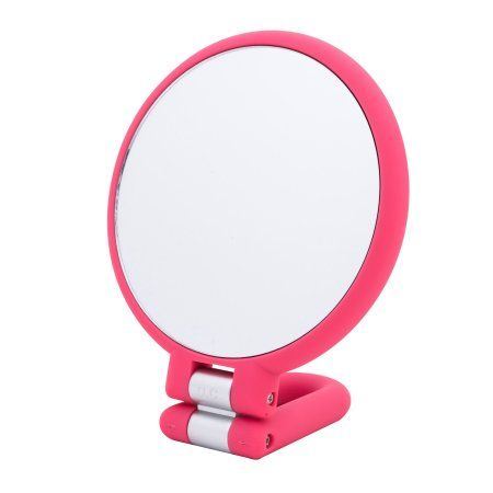 Danielle Soft Touch Hand Held 15x Mirror, Pink   Hand holding ...